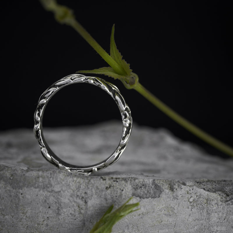 "Men's wedding band ""Louise"""