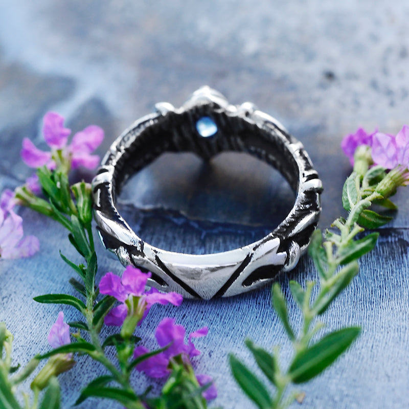 Kyanite Engagement Ring