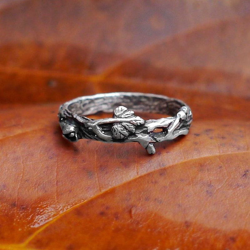 "Sterling Silver band ""Mio"" - blacktreelab"