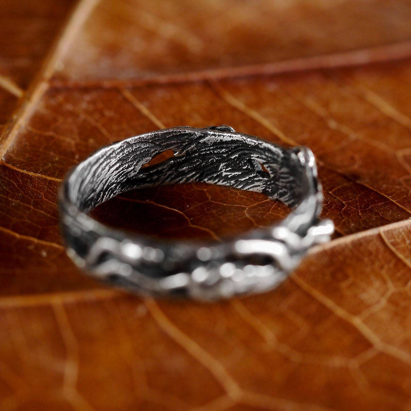 "Sterling Silver men's band ""Mio"" - blacktreelab"