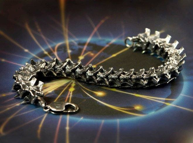 "Sterling Silver Men's Bracelet ""Nag"" - blacktreelab"