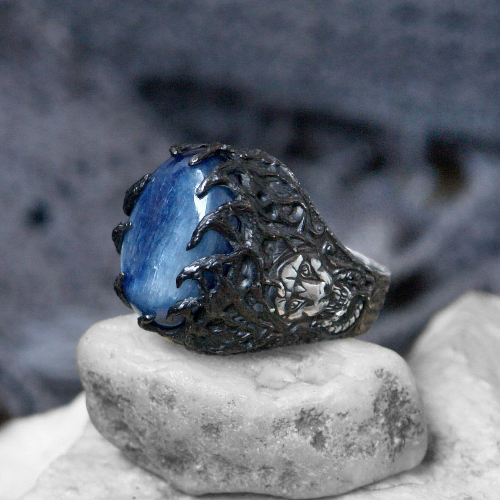 Kyanite Ring for Men