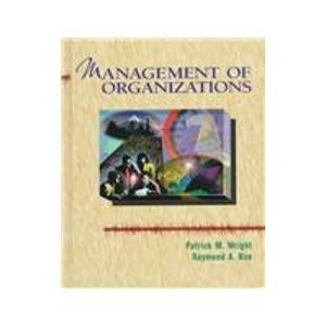 Management Of Organizations