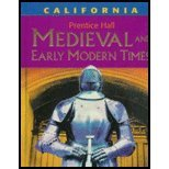 Medieval And Early Modern Times - California Edition