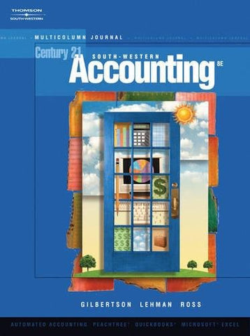Century 21 Accounting: Multicolumn Journal (With Cd-Rom)