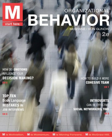 M: Organizational Behavior With Connect Plus