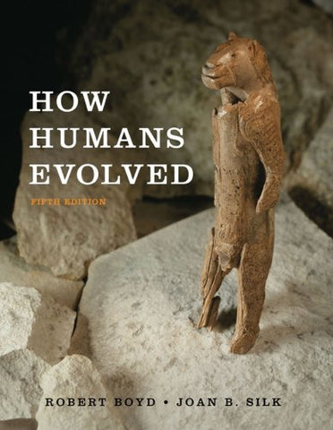 How Humans Evolved (Fifth Edition)