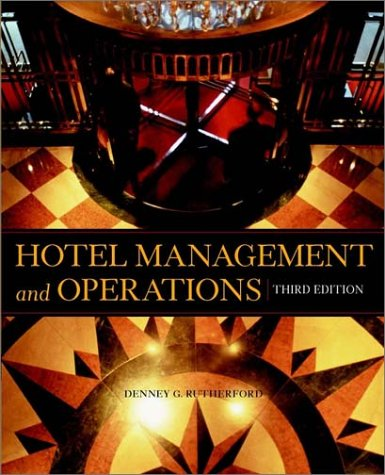 Hotel Management And Operations, 3Rd Edition