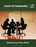 Income Tax Fundamentals 2011 (With H&R Block At Home Tax Preparation Software Cd-Rom)