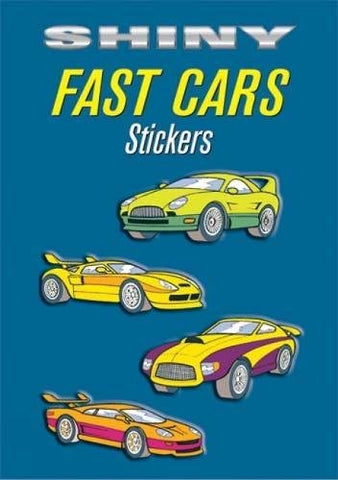 Shiny Fast Cars Stickers (Dover Little Activity Books Stickers)