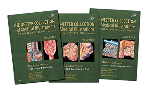 9: The Netter Collection Of Medical Illustrations: Digestive System Package, 2E (Netter Green Book Collection)