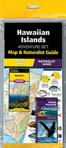 Hawaiian Islands Adventure Set: Map & Naturalist Guide