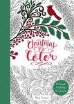 Christmas To Color 10 Postcards, 15 Gift Tags, 10 Ornaments