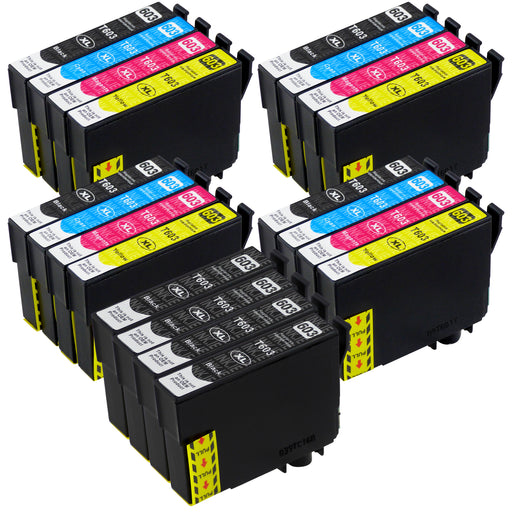 Compatible Epson 603XL - BIG BUNDLE DEAL (4 Black & 4 Multipacks) - Pack of 20 Cartridges