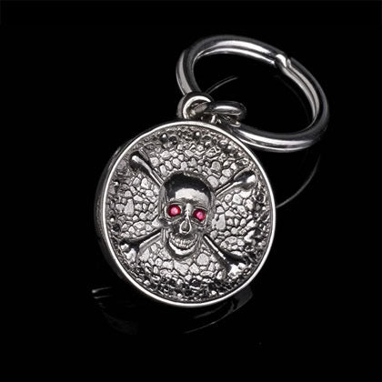 Skull and Crossbones Key Ring - Shano Designs