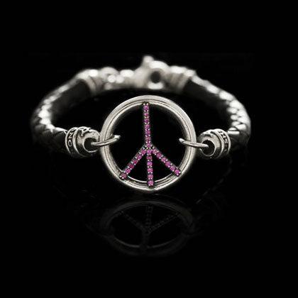 Peace Sign Bracelet - Shano Designs