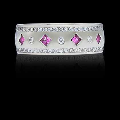 Right-Hand Ring—Pink Sapphire - Shano Designs