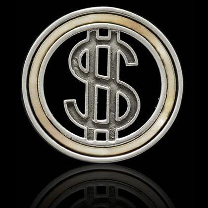 Show Me the Money! Ball Marker - Shano Designs