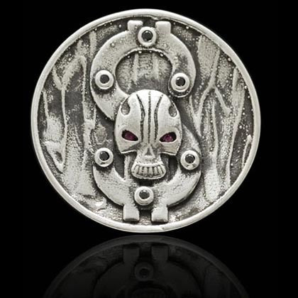 Skull and Dollar Ball Marker - Shano Designs