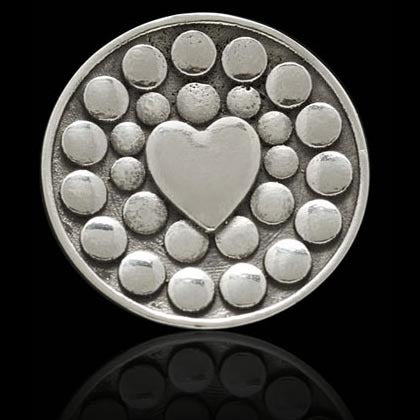 Bubble Heart Ball Marker - Shano Designs