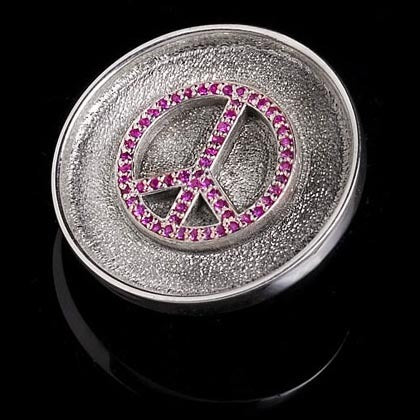 Peace Sign Ball Marker - Shano Designs