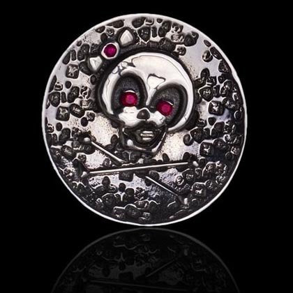 Skull and Crossbones Ball Marker - Shano Designs
