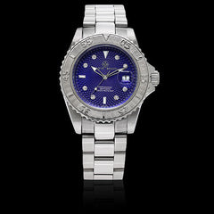 Marine Blue, Diamond Dial