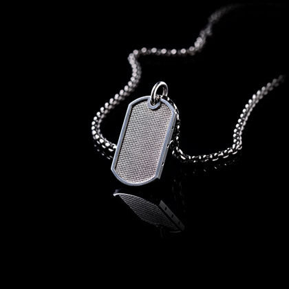 Black Diamond Dog Tag - Shano Designs