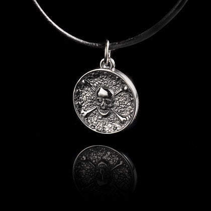 Skull and Crossbones Pendant - Shano Designs