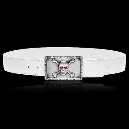 Skull and Crossbones Belt Buckle - Shano Designs