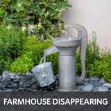 farmhouse disappearing water feature kit