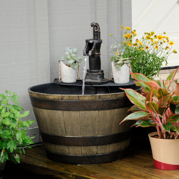 Farmhouse Planter Fountain