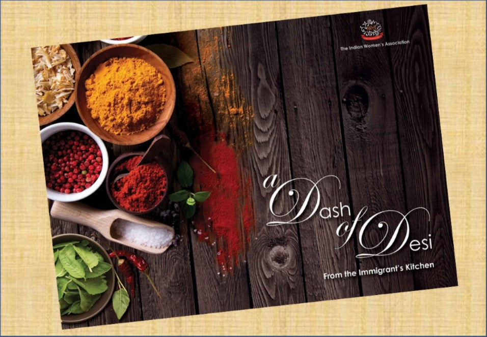 Zojila.com : Dash of Desi - From the Immigrant's Kitchen by the Indian Women's Association (IWA) of Greater Lafayette : Books