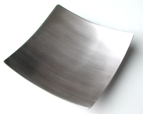 Zojila.com : Calicut Spoon Rest, 5 x 5 x 1-1/8 inches, Stainless steel Brushed Top : Kitchen & Dining