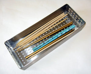 Zojila.com : Palena Utensil Tray: Multi purpose large stainless steel tray desk organizer : Office and Home Organization