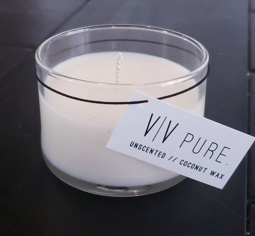 5.25 oz Pure Collection small cylinder candle