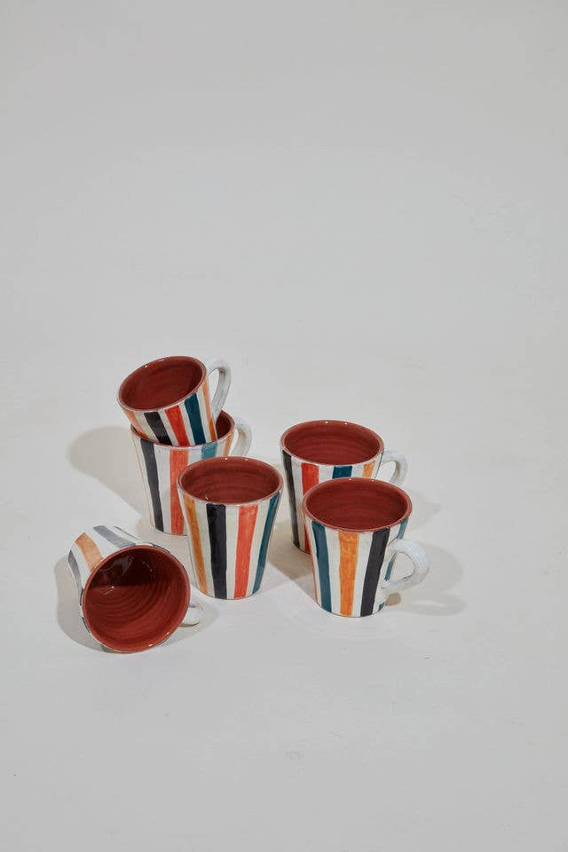 Moroccan Ceramic - Hand-painted Coffee Mug