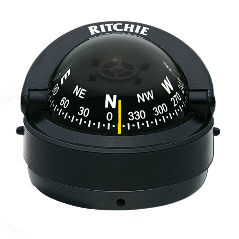 Ritchie S-53 Explorer Compass - Surface Mount - Black [S-53]