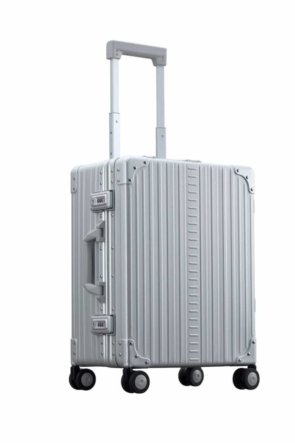 "21"" Aluminum Carry-On W/Shirt & Pant Packer"
