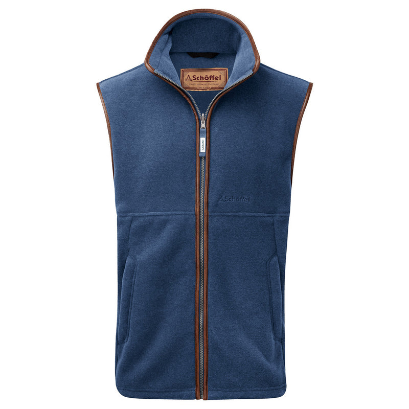 Oakham Fleece Gilet Denim