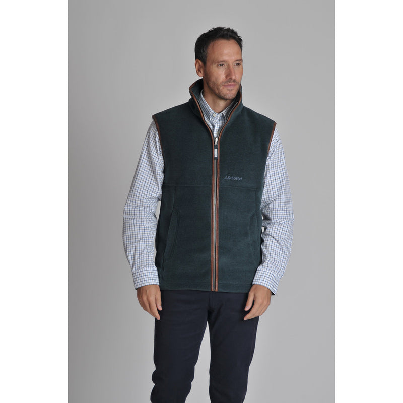Oakham Fleece Gilet Kingfisher