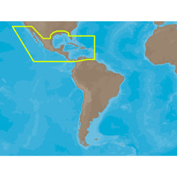 C-MAP MAX NA-M027 - Central America & The Caribbean - C-Card [NA-M027C-CARD]