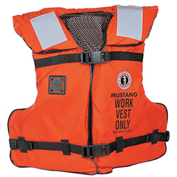 Mustang Work Vest w/Solas Tape [MV3192]