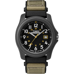 Timex Expedition Camper Nylon Strap Watch - Black [T42571JV]
