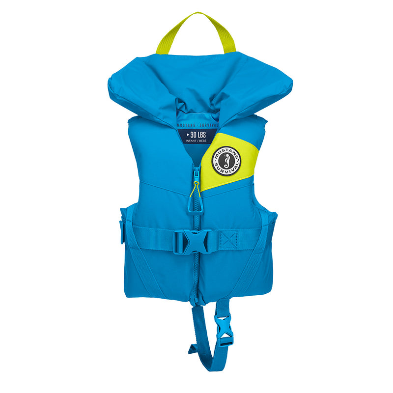 Mustang Lil Legends 100 Infant Foam PFD - Less Than 30lbs - Azure Blue [MV3250/02-268]