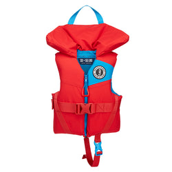 Mustang Lil Legends 100 Child Foam PFD - 33-55lbs - Imperial Red [MV3555-277]