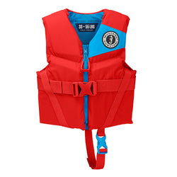 Mustang Rev Child Foam Vest - 33-55lbs - Imperial Red [MV3565-277]
