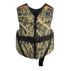 Mustang Rev Child Foam Vest - 33-55lbs - Mossy Oak Shadow Grass Blades [MV3565CM-261]