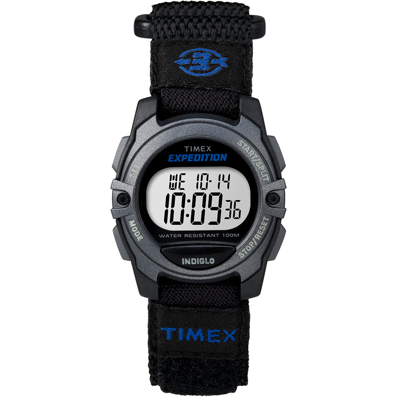 Timex Expedition Digital Core Fast Strap - Black/Blue [TW4B02400JV]