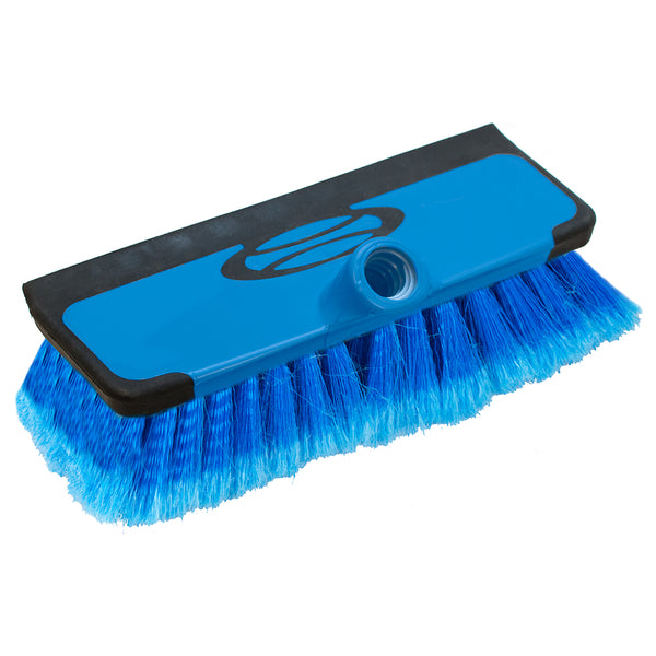 Sea-Dog Boat Hook Combination Soft Bristle Brush  Squeegee [491075-1]